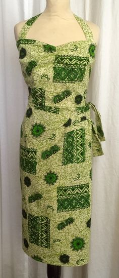 A personal favourite from my Etsy shop https://www.etsy.com/uk/listing/238778250/vintage-1950s-inspired-green-barkcloth