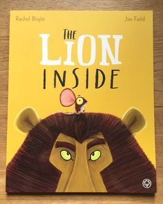 Free primary lesson ideas using The Lion Inside by Rachel Bright. Great for PHSEE and cross curricula activities.