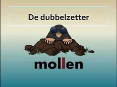 instructiefilmpje dubbelzetter - YouTube Learn Dutch, Dutch Words, Spelling And Grammar, Kids Writing, Primary School, Kids Education, Kids And Parenting, Mathematics, Kids Learning