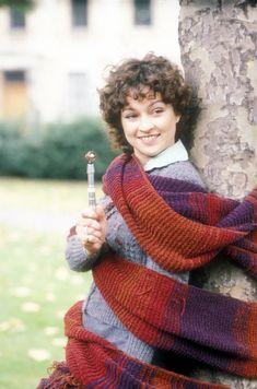 Tegan Jovanka (Janet Fielding), companion to the Fifth Doctor. Dr Who Tom Baker, Fifth Doctor, Peter Davison, Doctor Who Companions, Classic Doctor Who, Jelly Babies, Sci Fi Series, Doctor Who Tardis, Actresses