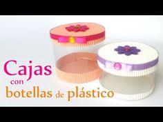 ▶ Manualidades: CAJAS con BOTELLAS de Plástico - Reciclaje - DIY Innova Manualidades - YouTube