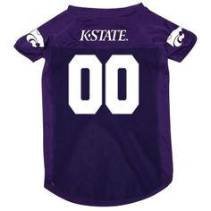 Have to include the dogs!! Kstate dog jersey!!