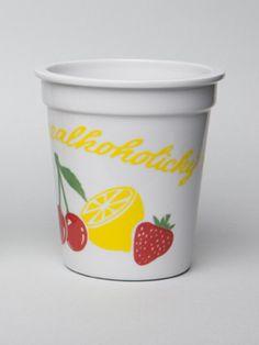 Porcelánový kelímek- Nealkoholický nápoj - Harddecore