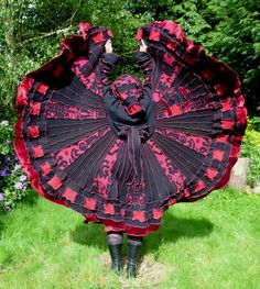 Gypsy coat from upcycled recycled reconstructed by SpiralGypsy