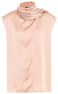 Minimalist, modern and infused with just the right amount of glamour, this slinky crêpe top from Joseph is the ideal instant update for any workwear wardrobe. This sleeveless style is cut into a spacious silhouette, and features . Satin Tank Top, Crepe Top, Cowl Neck Top, Satin Skirt, Wool Pants, Rag And Bone, Lace Bodysuit, Stretch Lace, Alternative Fashion