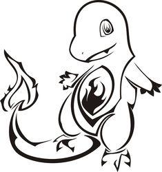 Pokemon Charmander Tattoo Idea