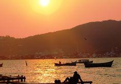 Pôr do sol na Lagoa. Imagens: Google