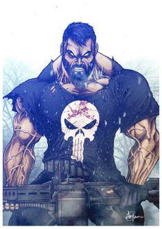 The Punisher I marvel artwork