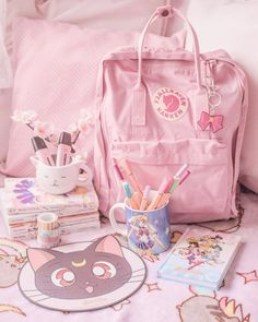 Shojo or Shonen?✨ Avete un genere manga/anime preferito? Use tue cose HEXZEN to get of discount in . Cute Room Ideas, Cute Room Decor, Kawaii Bedroom, Pastel Room, Kawaii Accessories, Game Room Design, Gamer Room, Cute School Supplies, Aesthetic Room Decor