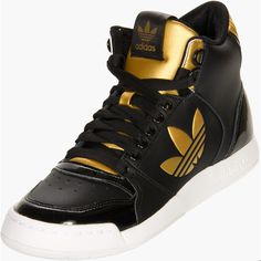 Adidas Originals Midiru Court 2.0 Trefoil Women's Athletic Casual... ($70) ❤ liked on Polyvore