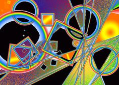 Trippy by Cycrolus.deviantart.com on @deviantART  This reminds me of Pink Floyd so much. I love it.