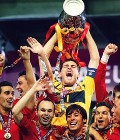 Spain, Euro 2012 Champions. Best football team I've ever seen.  Nuff said!