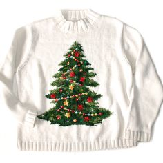 Add LED lights to your ugly Christmas sweater from The Ugly Sweater Shop