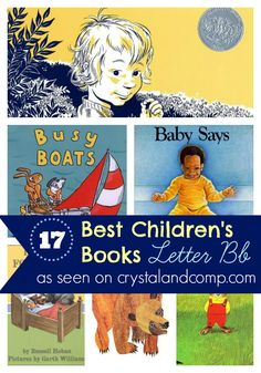 17 children's books to read while learn the letter Bb
