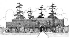 House Plans by Korel Home Designs S3177L
