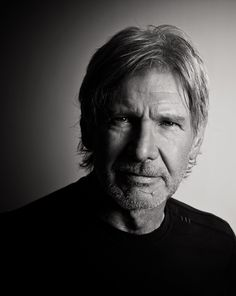 """#Harrison_Ford   by Michael Muller    """"I'm like old shoes. I've never been hip. I think the reason I'm still here is that I was never enough in fashion that I had to be replaced by something new."""" - Harrison Ford"""