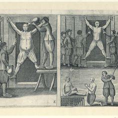 De martelingen van de Engelsen door de Hollanders op Ambon in 1622, Anonymous, 1673 - Rijksmuseum