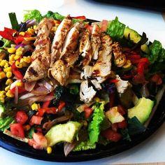#bajafresh www.facebook.com/bajafresh #salad #healthy #delicious Cobb Salad, Salads, Fresh, Facebook, Healthy, Food, Essen, Meals, Health