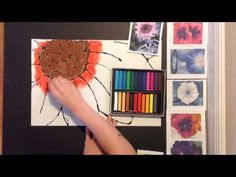 This video is about a Georgia O'Keefe Inspired Chalk Flower art lesson. The students will draw with black glue a flower and let it dry. Once it's dry they wi...