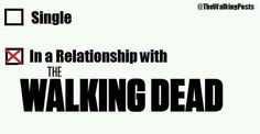 In a Relationship with THE WALKING DEAD