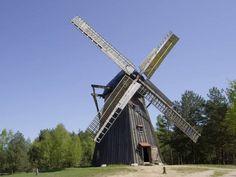 Water Mill, Baltic Sea, Central Europe, Our World, Homeland, Golden Gate Bridge, Windmills, Park, Architecture