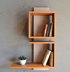 Home Decor Furniture, Furniture Decor, Diy Home Decor, Furniture Design, Room Decor, Decorating Bookshelves, Bookshelf Design, Wall Shelves Design, Unique Wall Shelves