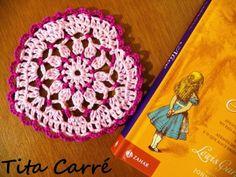 Coração apaixonado em crochet