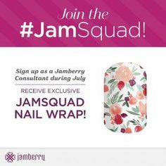 This  month only if you sign up with me to be a consultant not only will you receive this gorgeous wrap, you will also have an opportunity to increase your income and make life beautiful for those around you — there is no limit to how successful you can become. Even better, you have the opportunity to grow your own team and reach new heights in your business. Become a member of the #JamSquad today!