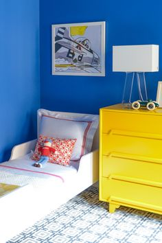 Chic Kids' Rooms. NYC home of Ferebee Taube.