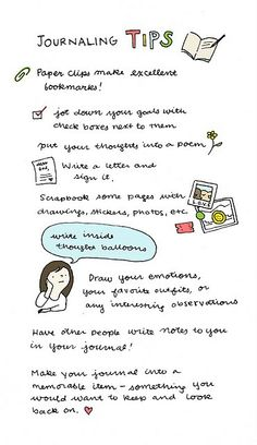 journaling tips. I've done every single one of these actually haha