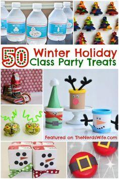 Winter Holiday Class Party Treats