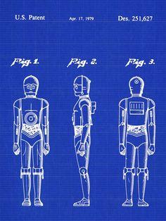 Star Wars Patent - C3PO