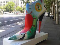 Shoe Street Art - Madrid