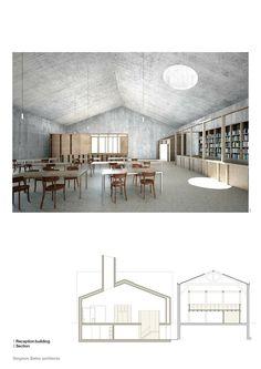 Sergison Bates architects timber framing