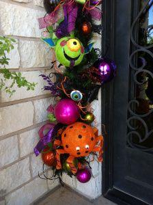 Halloween teacher gift. Modify into door wreath