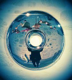.galeria showme, braga, by: oscar zieta  https://shop.zieta.pl/pl,p,,17,rondo_inox_lustro.html