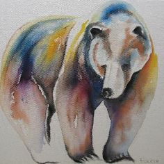 I love Faith Harckham's bear, Suzy!