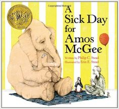 Sick Day for Amos Mcgee: Amazon.co.uk: Philip C. Stead: 9781596434028: Books
