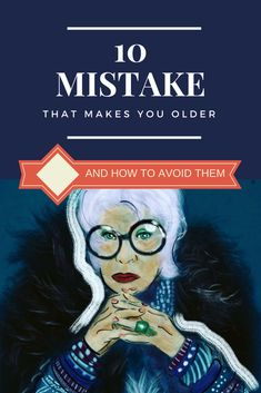 Sometimes all of us feel we are not that young anymore. We can stick to old habits which were maybe good for us 20 years before, but not anymore.  We can make very easily mistakes that will make us older. Let`s kick out those old habits 🙂