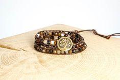 "Armband ""Coffee"" Fair Trade, Cuff Bracelets, Coffee, Gold, Jewelry, Fashion, Rhinestones, Beads, Wristlets"