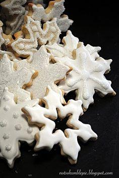 Snowflake cookies  Jeana Favors