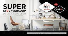 Stockverkoop van Designmeubelen -- Ruiselede -- 12/05-14/05