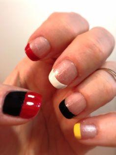 My Disney nails.