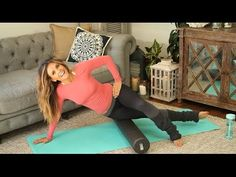 Your NEW #FriskyFall Foam Roller Routine ~ Tone It Up Tuesday! - YouTube