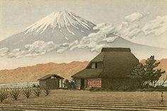 "Japanese Art Print ""Mount Fuji, Narusawa"" by Kawase Hasui. Shin Hanga and Art Reproductions http://www.amazon.com/dp/B01DSO4DD4/ref=cm_sw_r_pi_dp_fj4dxb0ACZGDP"