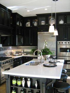 1000 Images About Kitchens Black Grey Cabinets On Pinterest Sarah 101 Sarah Richardson