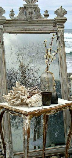mirror and coastal elements