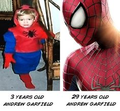 Andrew Garfield's dream - funny pictures - funny photos - funny images - funny pics - funny quotes - #lol #humor #funny