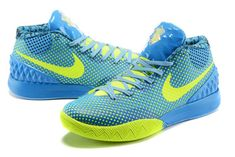 new concept 7f58d 1750d Shop 2018 Kyrie 1 One ID Sky Blue Electric Green Volt Running Shoes Nike,  Nike