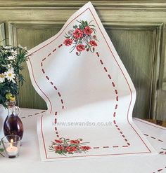 Shop online for Poppy Table Runner Cross Stitch Kit at sewandso.co.uk. Browse our great range of cross stitch and needlecraft products, in stock, with great prices and fast delivery.